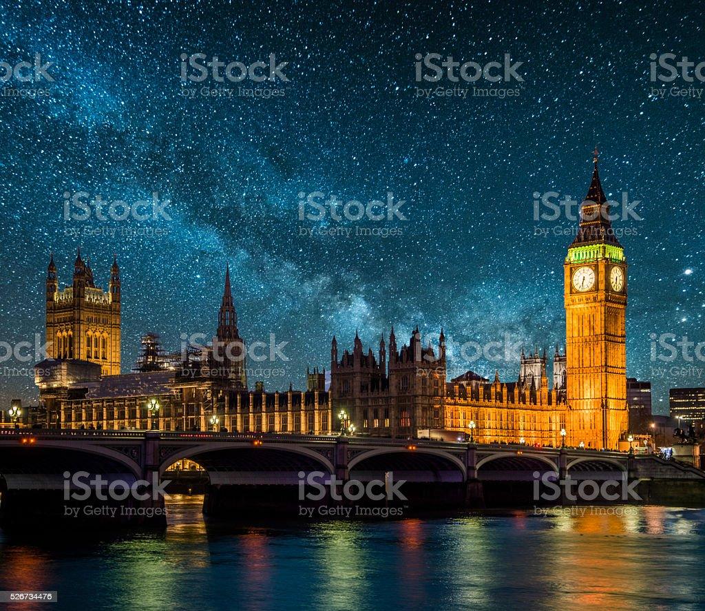 Londres sous les étoiles - Photo