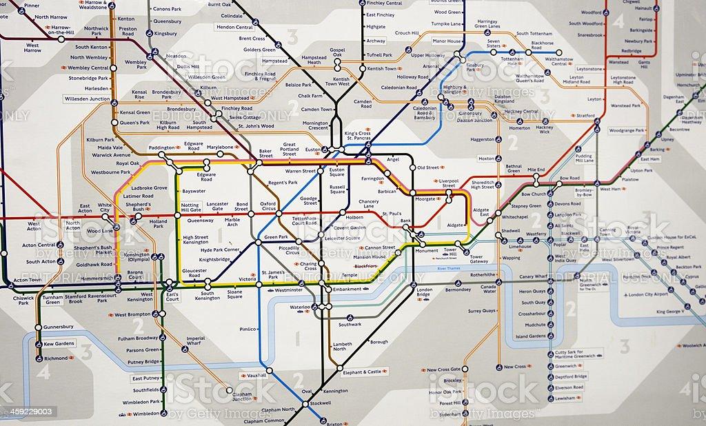 Estações De Metro Londres Mapa.Mapa Metro De Londres Estacao De Metro Metro Fotografias