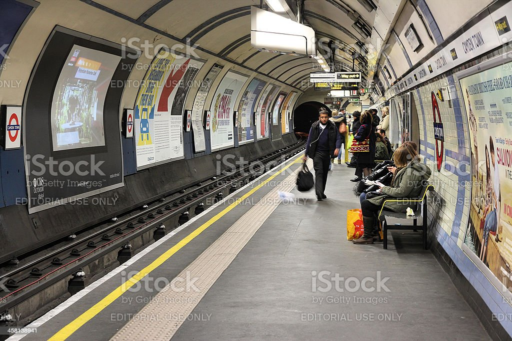 London Underground royalty-free stock photo