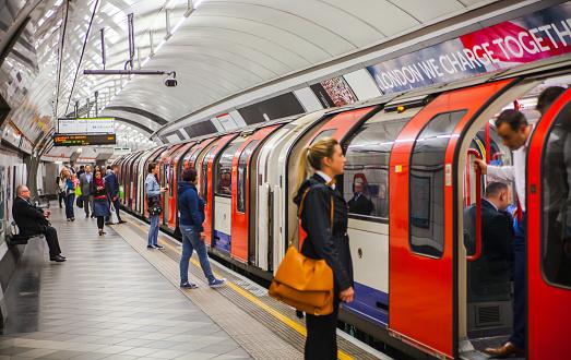London Underground Stock Photo - Download Image Now