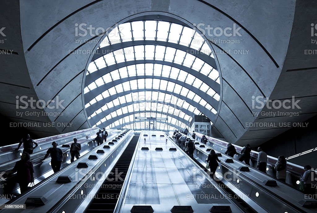 London Underground Station royalty-free stock photo
