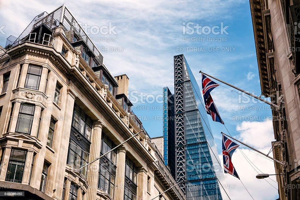 London urban life stock photo