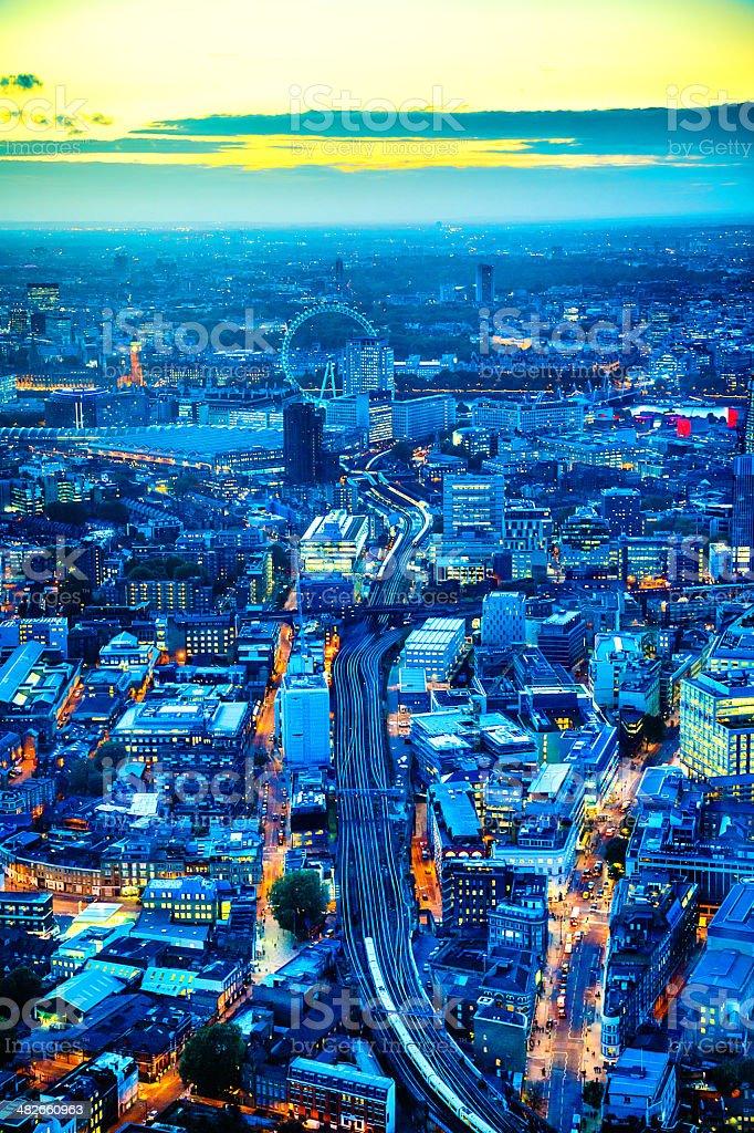 London, western part stock photo
