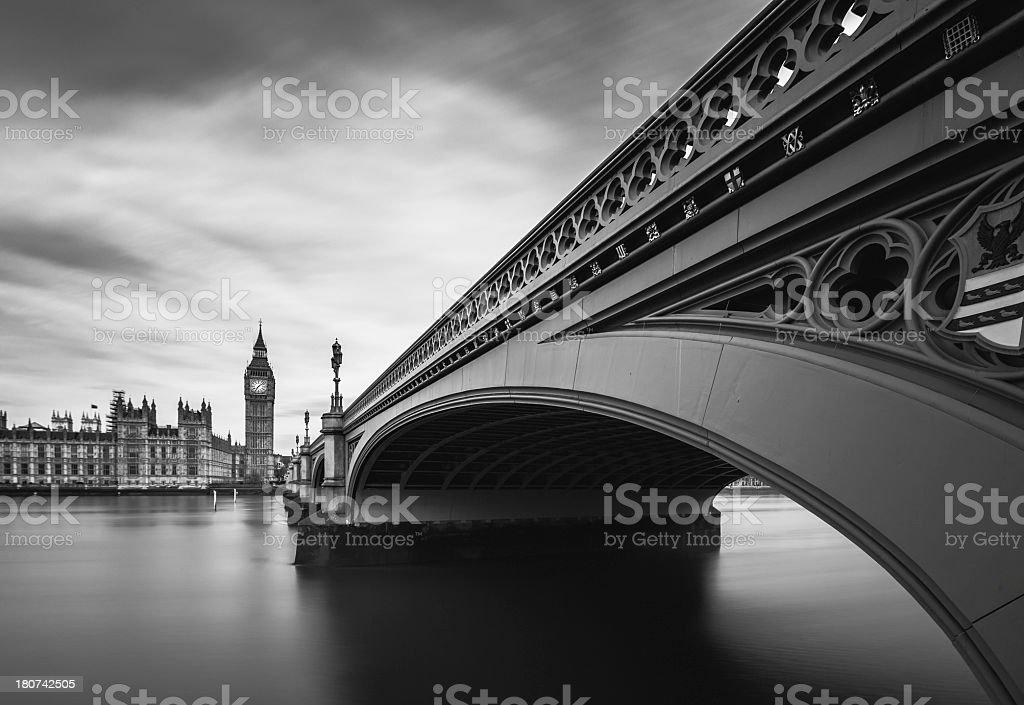 London Westminster Bridge, royalty-free stock photo