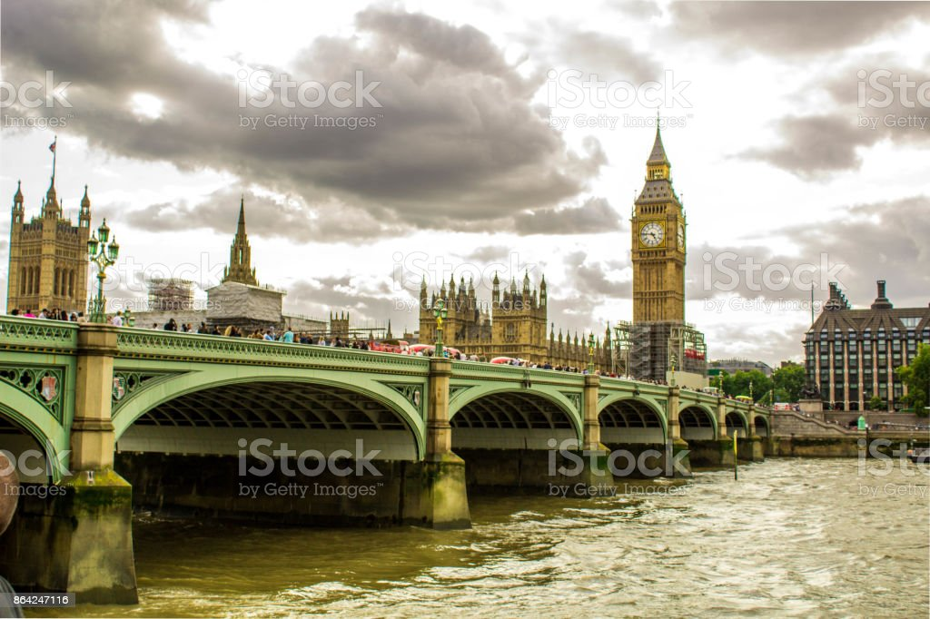 London Westminster royalty-free stock photo