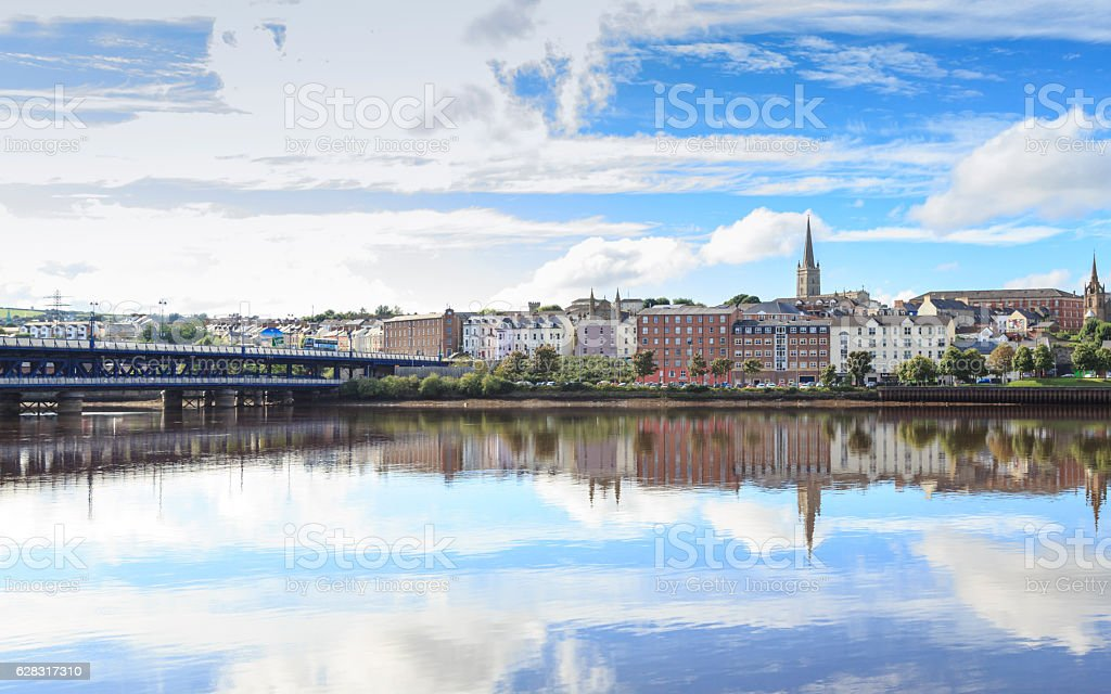 Londonderry, Northern Ireland. stock photo