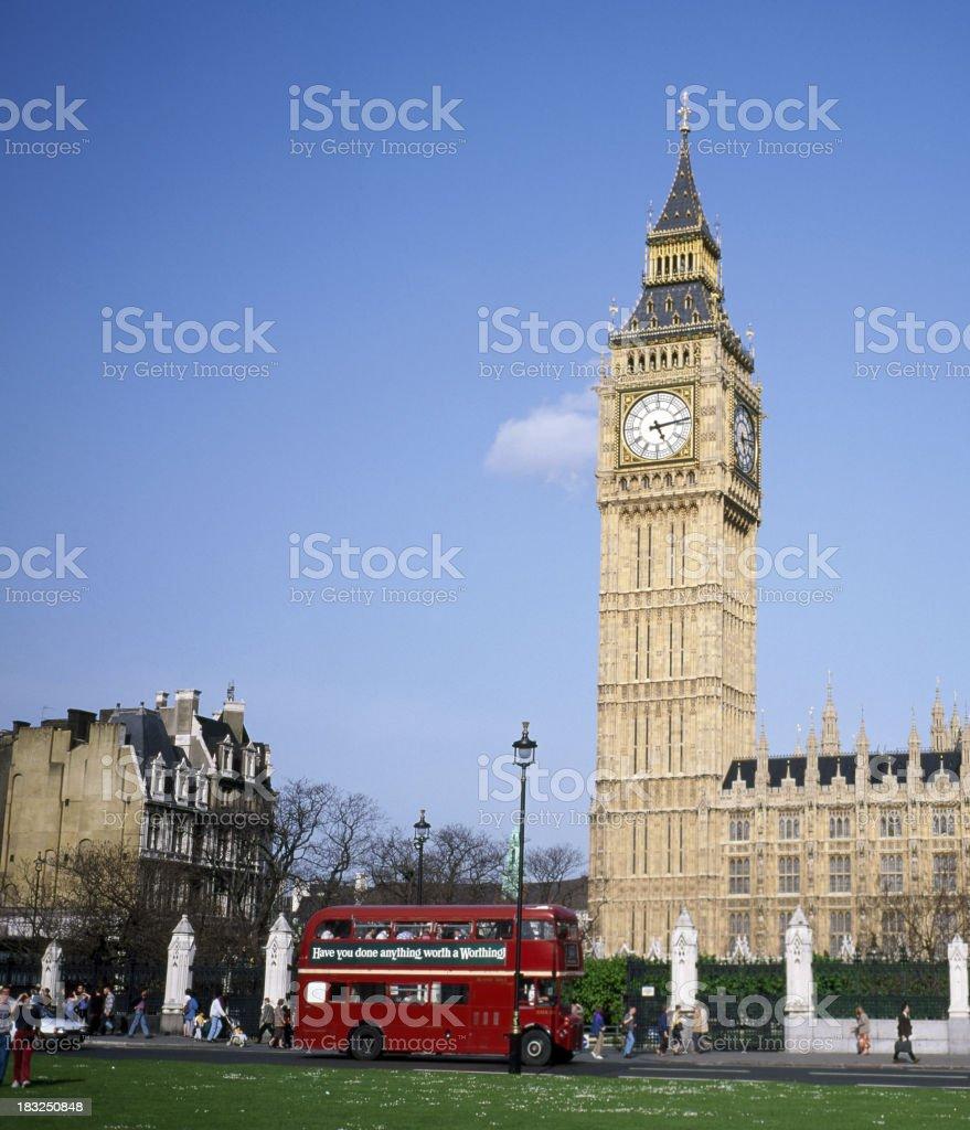 London's Big Ben royalty-free stock photo