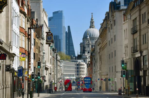 London's Fleet Street stock photo