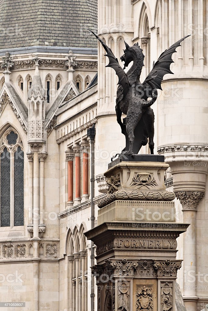 London's Griffin royalty-free stock photo