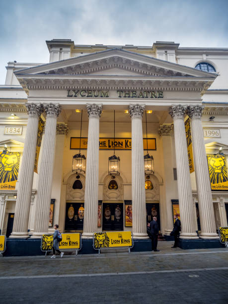 London's Lyceum Theatre - foto stock