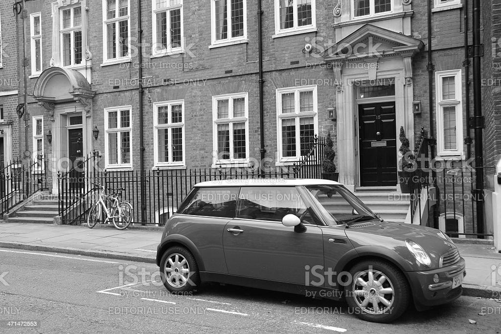 London's typical quarter stock photo