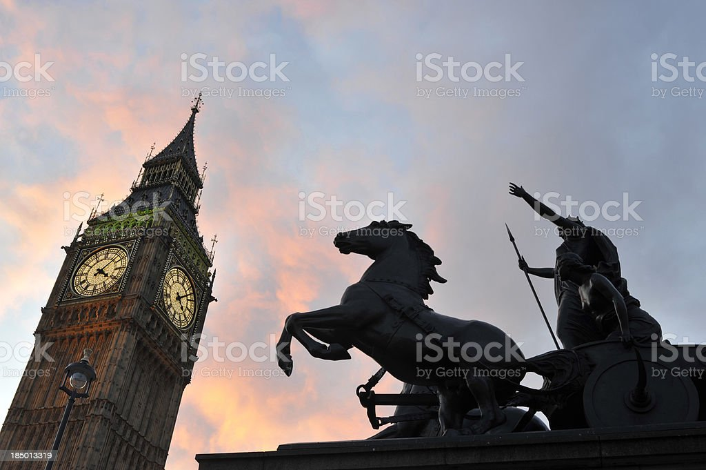London's Westminster. royalty-free stock photo