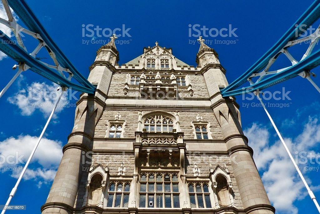 Londres, a Tower Bridge, Pont, arquitetura foto royalty-free