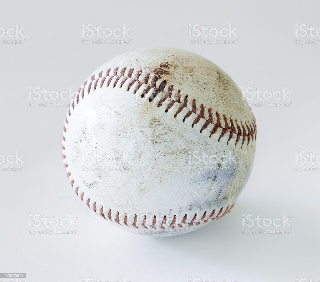 Lone Baseball stock photo