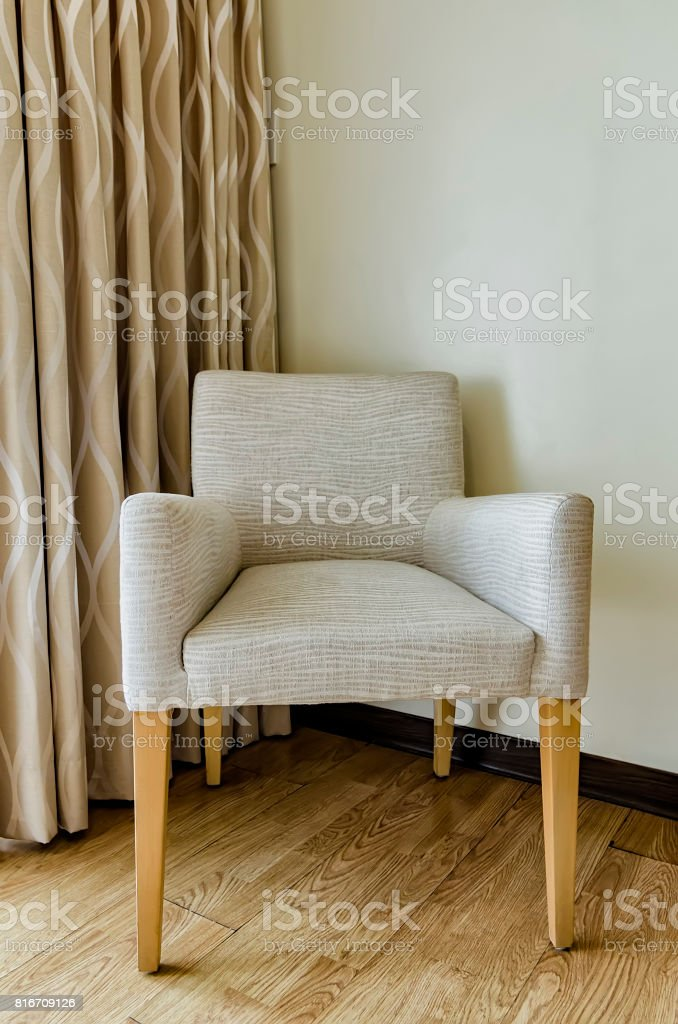 Lone Chair stock photo