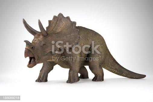 CGI 3D dinosaour Triceratops