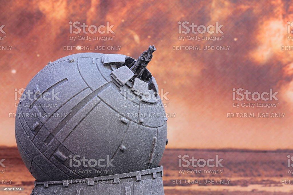 Lone Gun stock photo