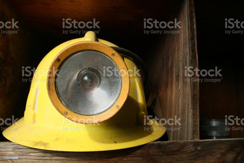 Bergbau-Helm – Foto