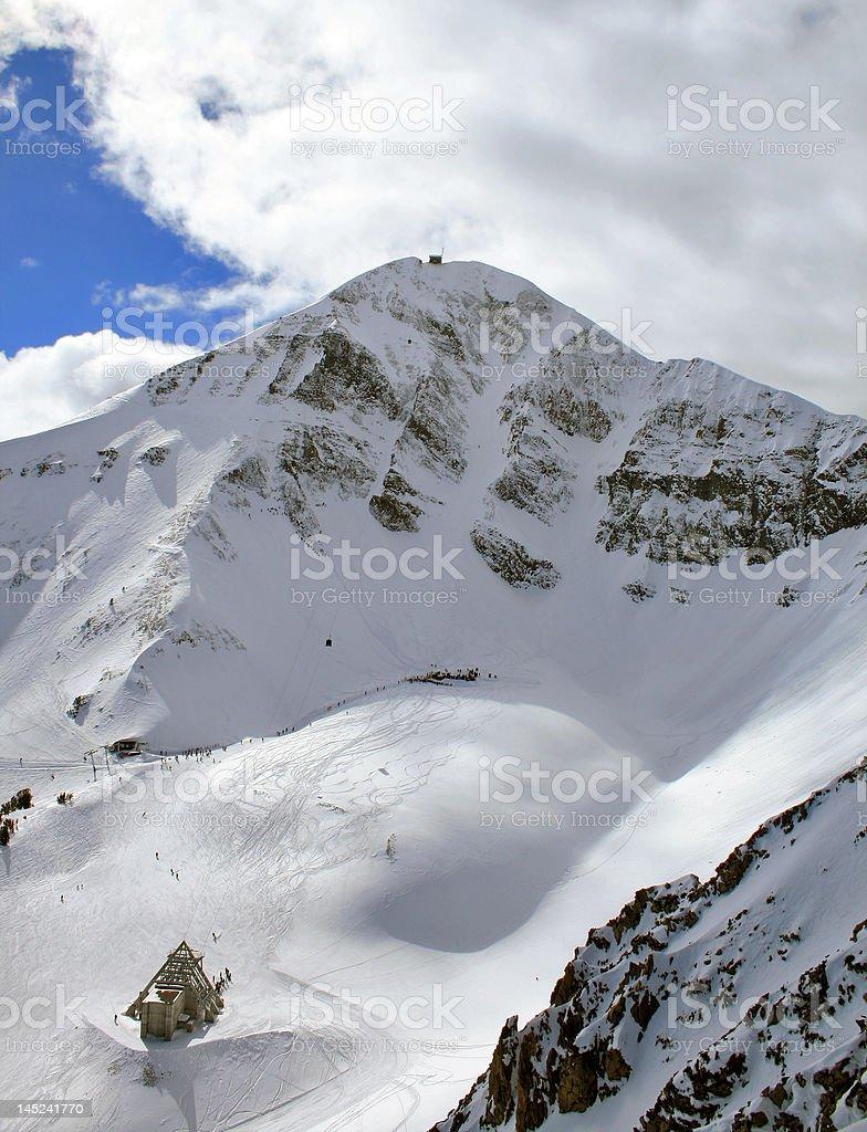 Lone Peak royalty-free stock photo