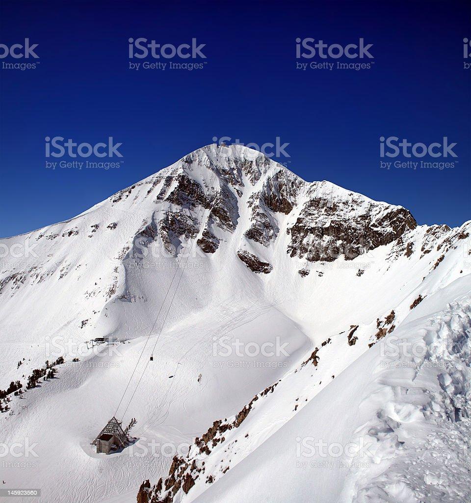 Lone Peak stock photo