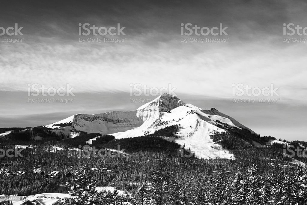 Lone Peak stock photo