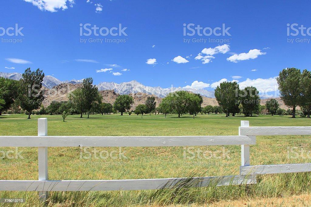 Lone Pine, CA stock photo