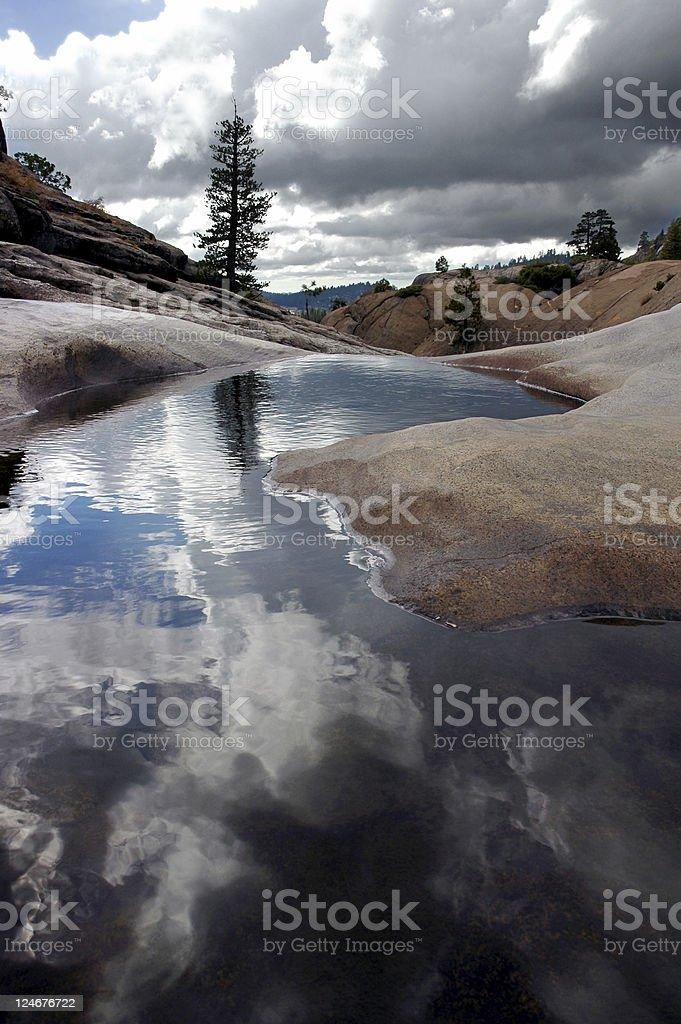 Lone Pine, Quiet Pool royalty-free stock photo
