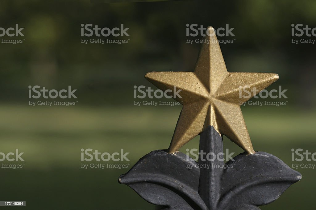 Lone Star royalty-free stock photo