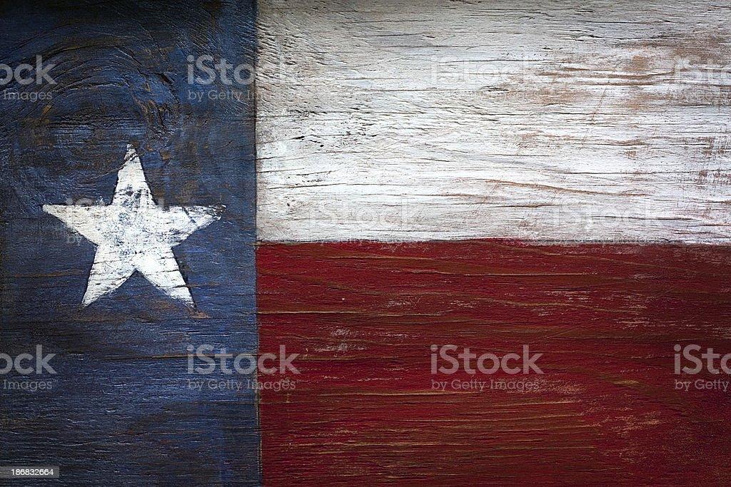 Bandera del estado de la estrella solitaria - foto de stock