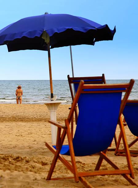 Einsam Strand – Foto