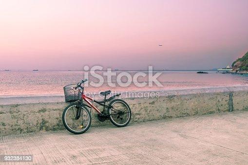 Landscape, Bike, Vintage