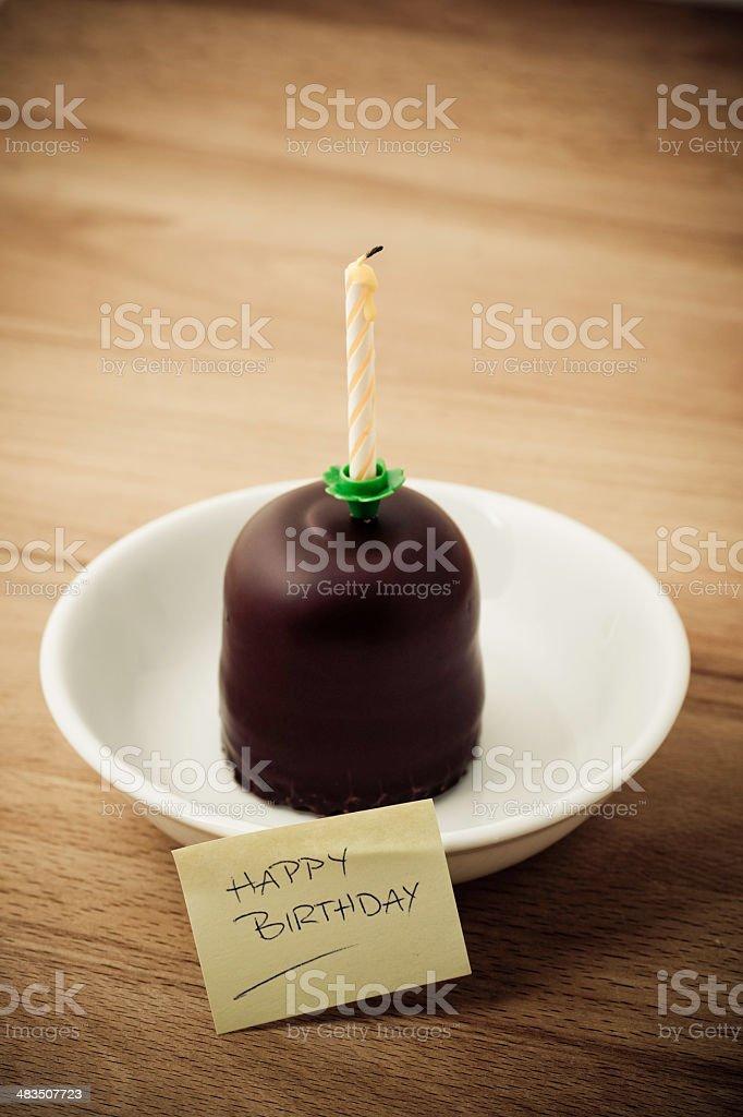 Lonely Birthday royalty-free stock photo