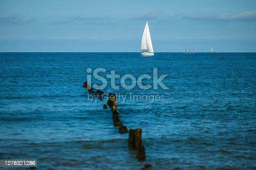 sunny day at Baltic Sea