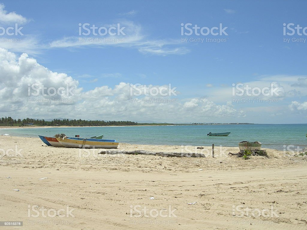 Lonely Boats royalty-free stock photo
