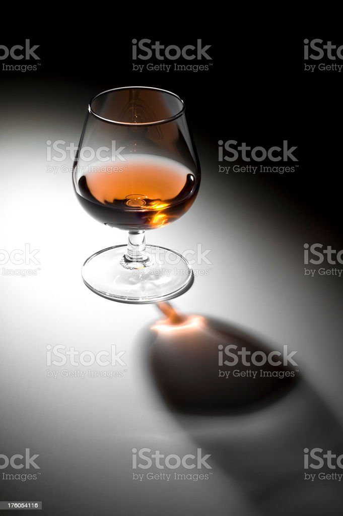 Lonely Brandy royalty-free stock photo