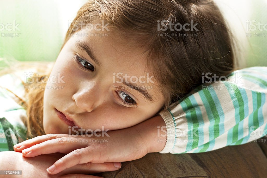 Lonely Child royalty-free stock photo