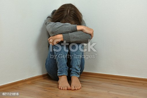 istock Lonely girl 621121816