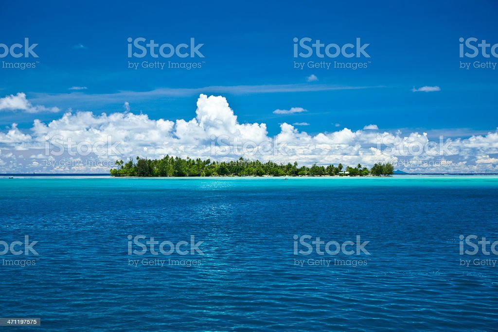 Lonely Holiday Island royalty-free stock photo