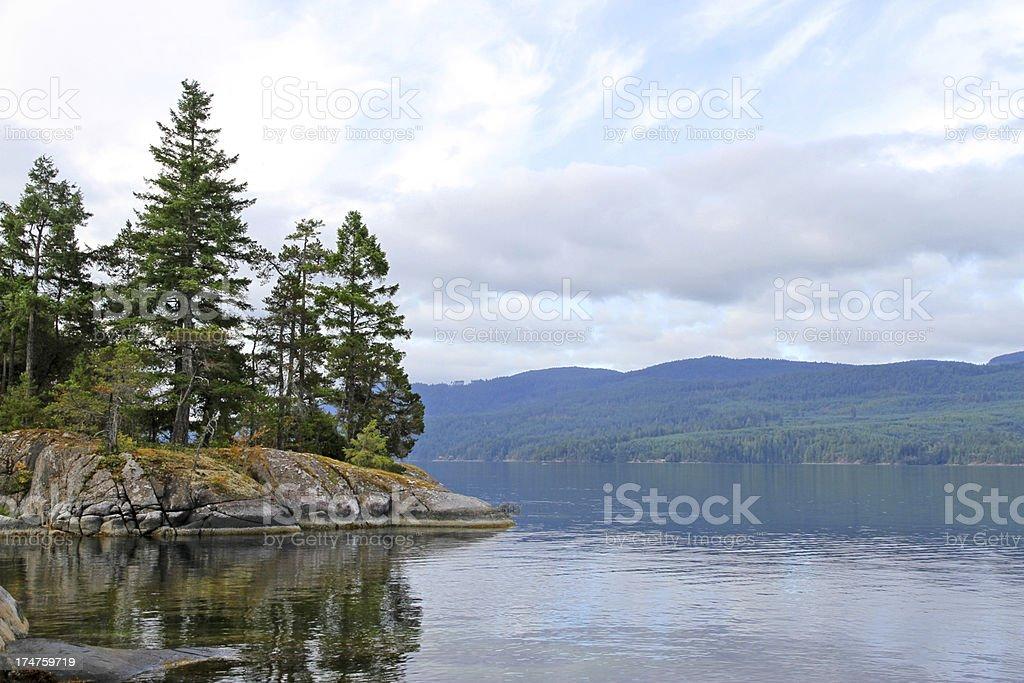 Lonely Island stock photo