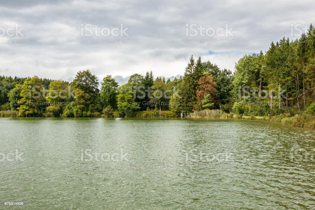 Einsam lake – Foto