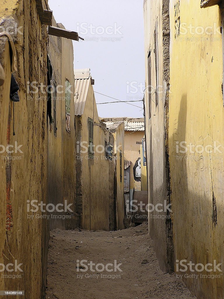 Lonely Lane royalty-free stock photo