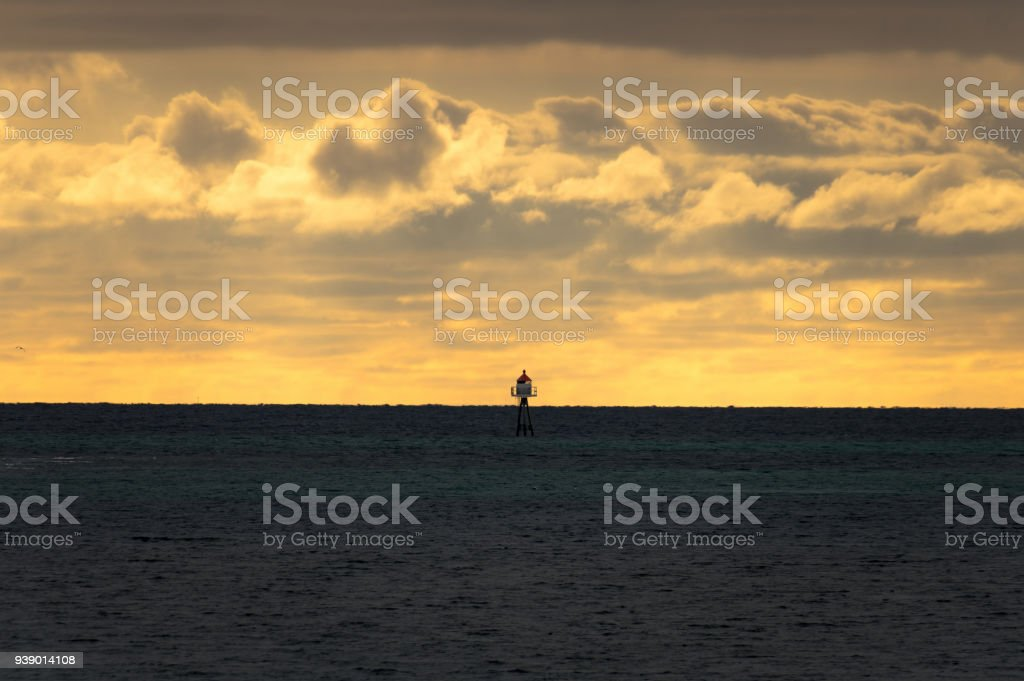 Lonely Lighthouse royalty-free stock photo