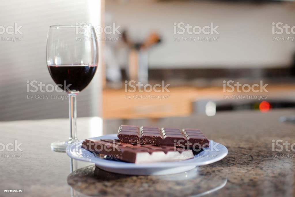 Lonely night In stock photo