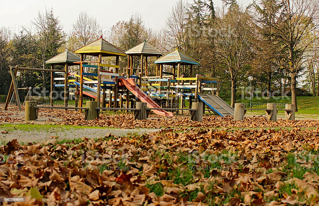 Lonely Park 2 stock photo