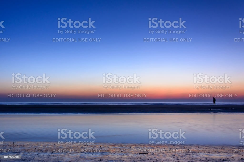 Lonely Planet reveals sunsets at Teknaf, Cox's Bazar stock photo