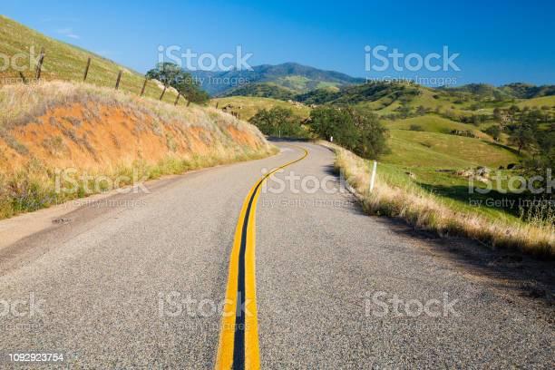 Lonely road in the foothills of the sierra nevada usa picture id1092923754?b=1&k=6&m=1092923754&s=612x612&h= za1vk9kxcfewl b2z1zr rwxyywl fyz aehw2zn s=