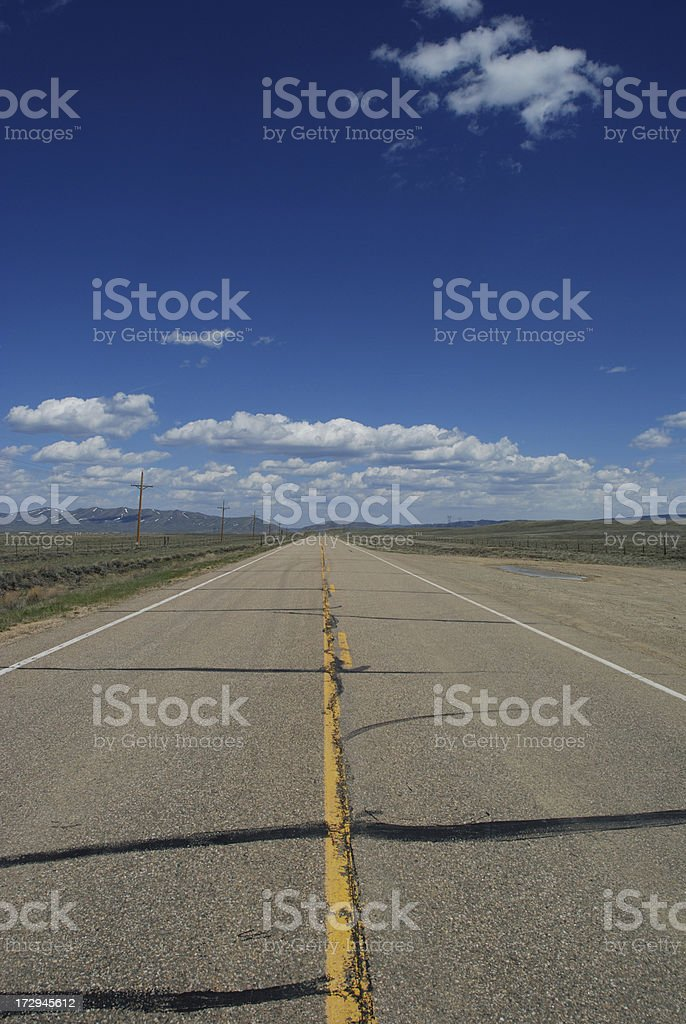 Lonely Road royalty-free stock photo