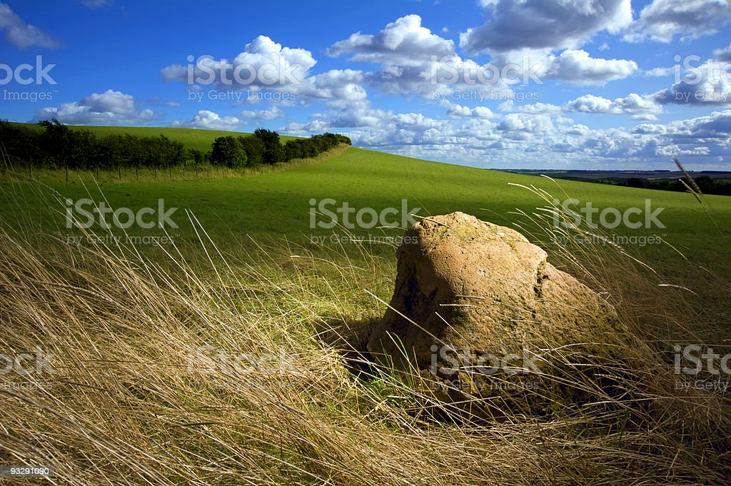 Lonely Rock royalty-free stock photo
