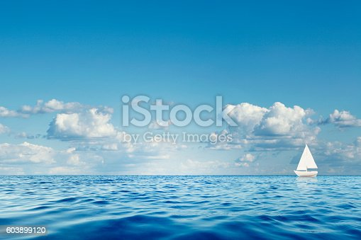 istock Lonely Sailboat 603899120