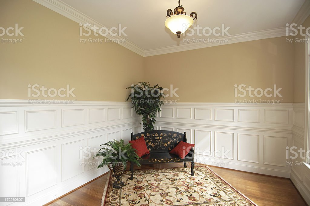 Lonely Sitting Room royalty-free stock photo